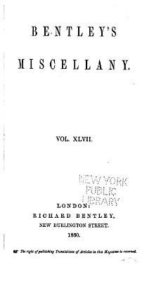 Bentley s Miscellany PDF