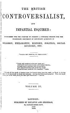 The British Controversialist PDF