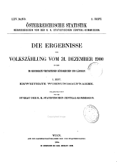 Österreichische Statistik: Band 65