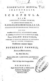 Dissertatio medica inauguralis de scrophula ...