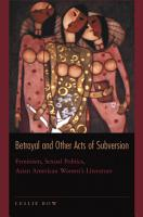 Betrayal and Other Acts of Subversion PDF