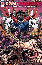 Rom Vs. Transformers: Shining Armor #2