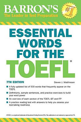 Essential Words for the TOEFL PDF