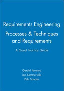 Requirements Engineering Processes and Techniques with Requirements Engineering PDF