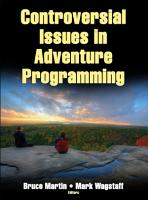 Controversial Issues in Adventure Programming PDF
