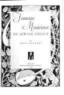 Famous Musicians of Jewish Origin