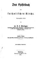 Das Epistelbuch der katholischen Kirche PDF
