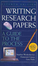 Writing Research Papers With 2009 Mla And 2010 Updates Book PDF