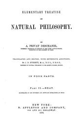 Elementary Treatise on Natural Philosophy: Part 3