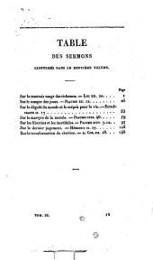 Sermons sur divers textes de l'Ecriture sainte: précédés d'une Notice sur sa vie et ses écrits, Volume9
