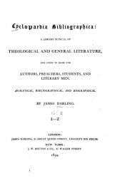 Cyclopaedia Bibliographica: Subjects, Holy Scriptures