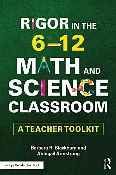 Rigor in the 6   12 Math and Science Classroom PDF