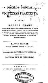 Praxeos medicae universae praecepta: Volume5