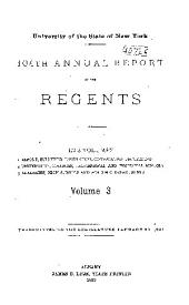 Annual Report of the Regents: Issue 104, Part 3