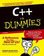 C++ For Dummies: Edition 5