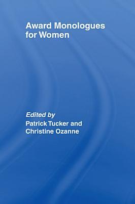 Award Monologues for Women PDF