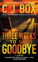Three Weeks to Say Goodbye PDF