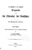 G  Schwabs und K  Kl  pfels Wegweiser durch die literatur der Deutschen PDF