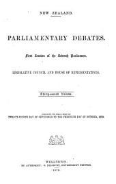Parliamentary Debates: Volume 32