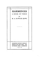 Harmonies: A Book of Verse