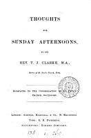 Thoughts for Sunday afternoons PDF