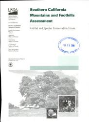 Southern California Mountains and Foothills Assessment PDF