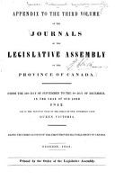 Journals of the Legislative Assembly of the Province of Canada PDF