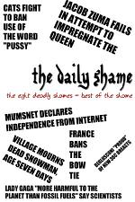 The Eight Deadly Shames: Best of the Daily Shame 1