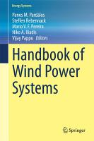 Handbook of Wind Power Systems PDF
