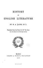 History of English Literature ...
