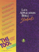 Life Application Bible For Students Book PDF