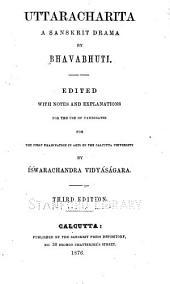 Uttaracharita: a Sanskrit drama