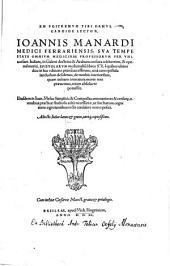 Epistolarum medicinalium Libri XX