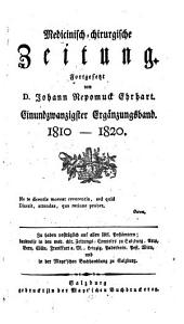 Medicinisch-chirurgische Zeitung: Band 21