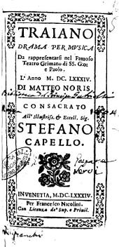 La Zenobia drama per musica di Mattio Noris. Da rappresentarsi nel teatro di San Cassano l'anno 1666. Dedicata all'illust. ... signor Filippo Giuliano Mazarini Mancini duca di Niuers, ..