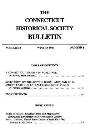 The Connecticut Historical Society Bulletin PDF