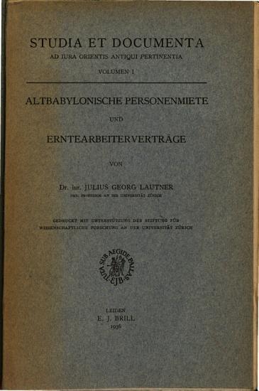Studia Et Documenta PDF