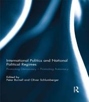 International Politics and National Political Regimes PDF