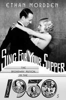 Sing for Your Supper PDF