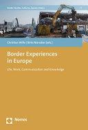 Border Experiences in Europe PDF