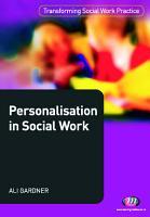 Personalisation in Social Work PDF