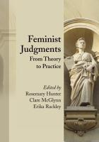 Feminist Judgments PDF