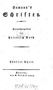 Schriften: Band 5