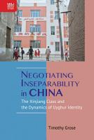 Negotiating Inseparability in China PDF