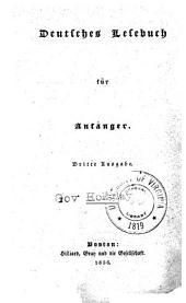 Deutsches Lesebuch für Anfänger