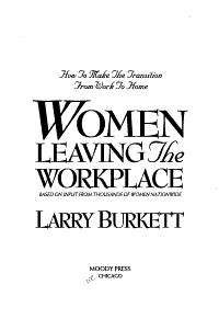 Women Leaving the Workplace PDF