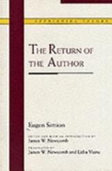 The Return Of The Author Book PDF