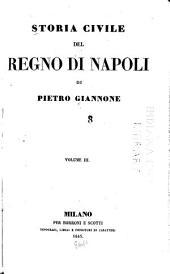 Storia civile del regno di Napoli: Volume 3