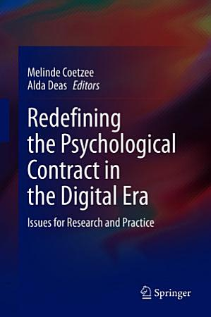 Redefining the Psychological Contract in the Digital Era PDF