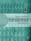 Human Development in the Indian Context, Volume II